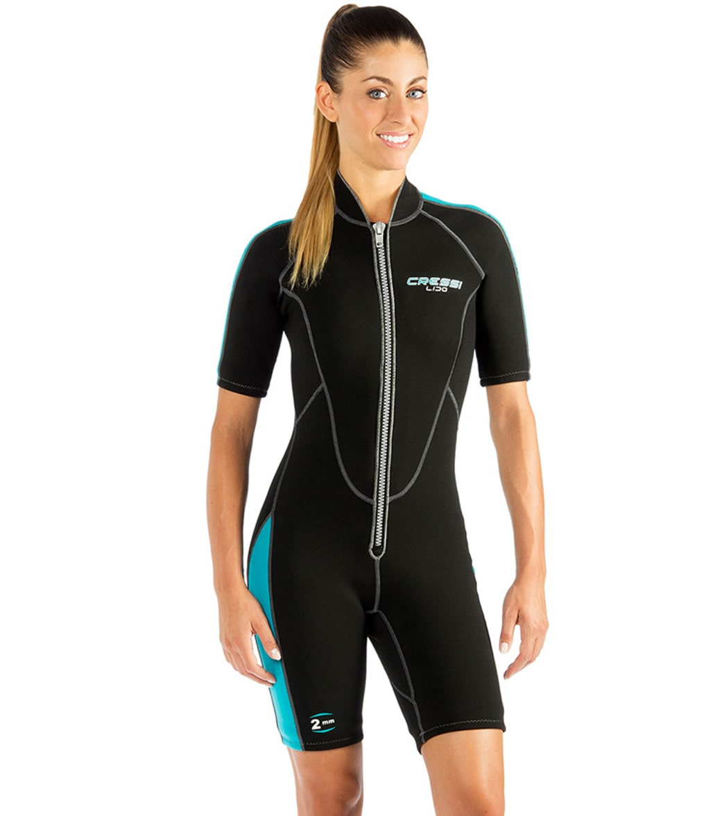 Cressi Women s 2mm Lido Shorty Wetsuit at SwimOutlet.com - Free Shipping 858048521