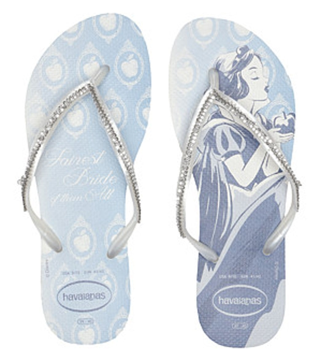 c6e59eaaa578 Havaianas Women s Slim Bridal Snow White Flip Flop at SwimOutlet.com ...