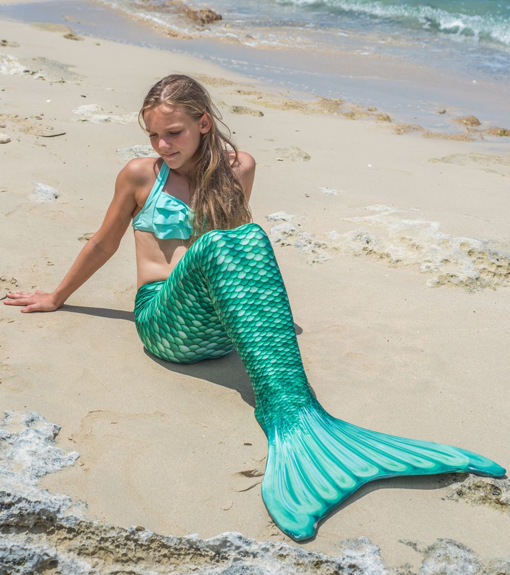 2cab24191193c4 Fin Fun Celtic Green Mermaid Tail & Monofin (Youth/Adult) at ...