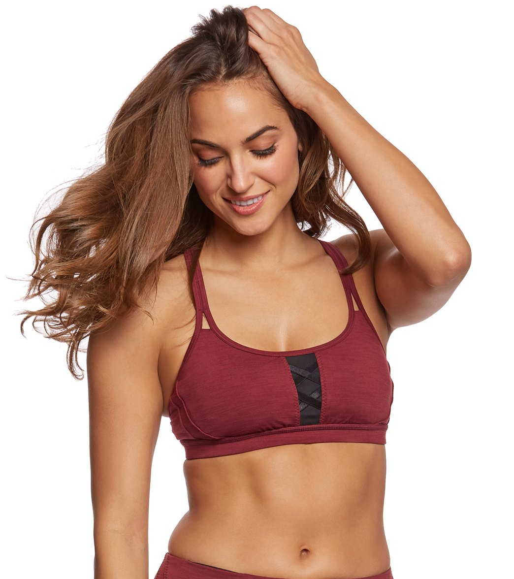 a255bbbfc6794 Manduka Corset Yoga Sports Bra at YogaOutlet.com - Free Shipping