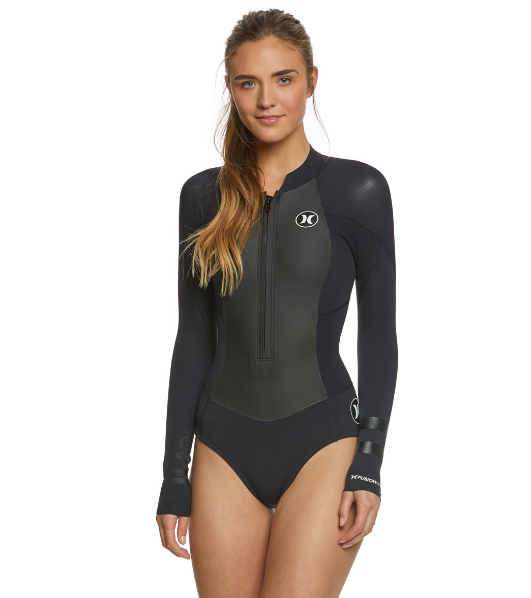 45739e31fc Hurley Fusion 202 L S Front Zip Springsuit at SwimOutlet.com - Free ...