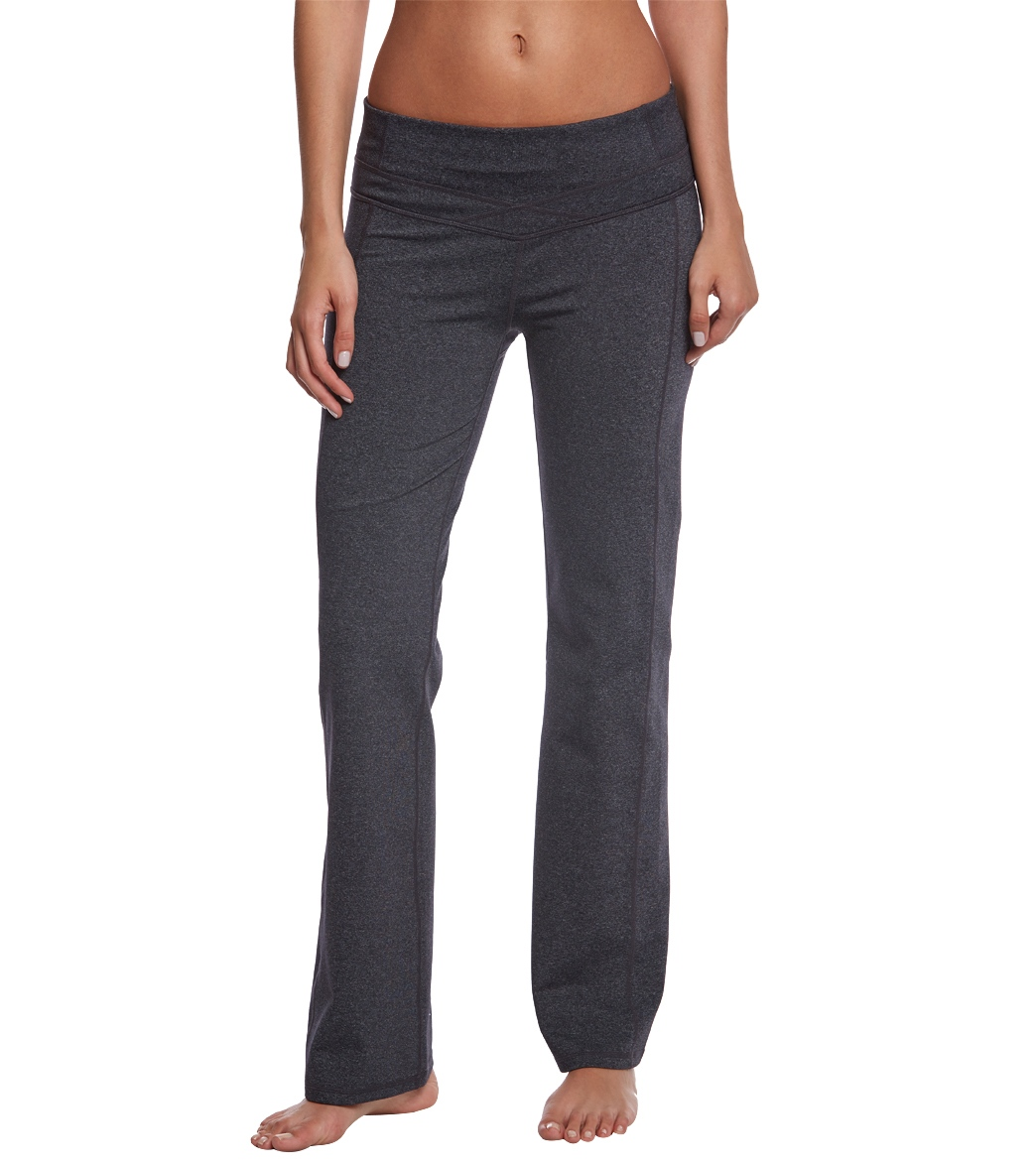 Prana Britta Short Inseam Yoga Pants At SwimOutlet.com
