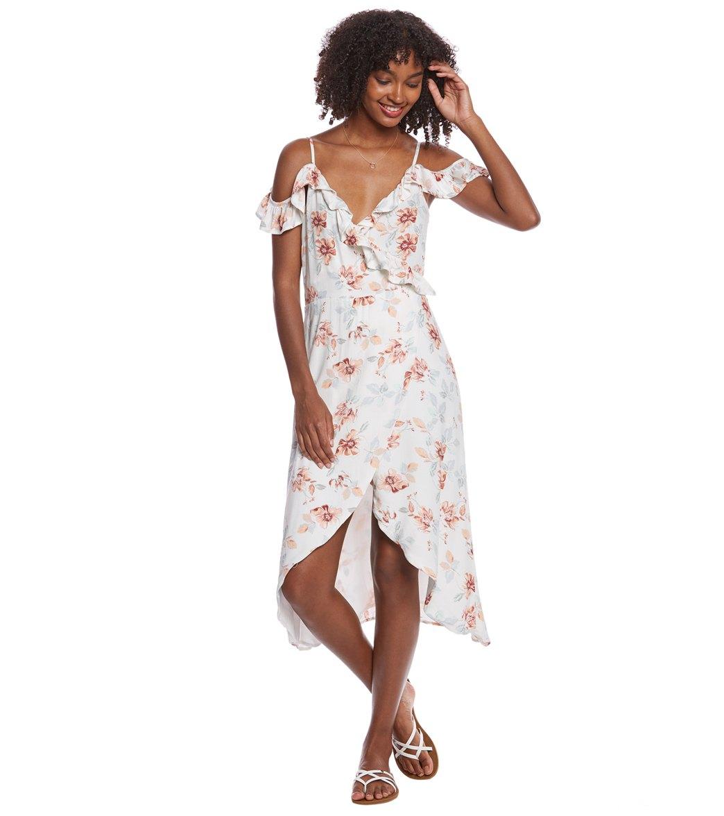 25c72b69ecac5 MINKPINK Innocence Wrap Midi Dress