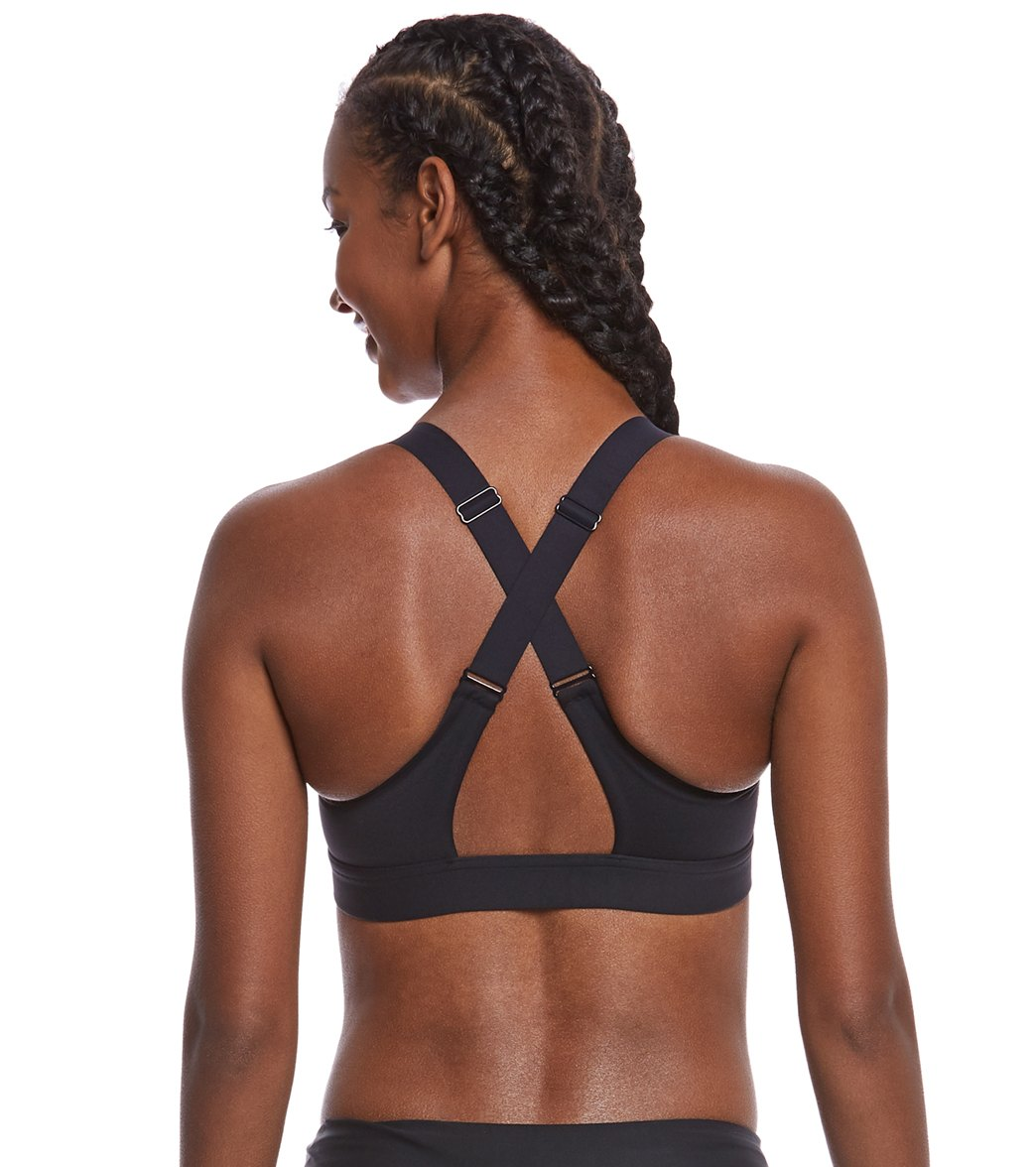 Under Armour Women s Eclipse High Zip Front Sports Bra at SwimOutlet.com -  Free Shipping 3f752bc5a