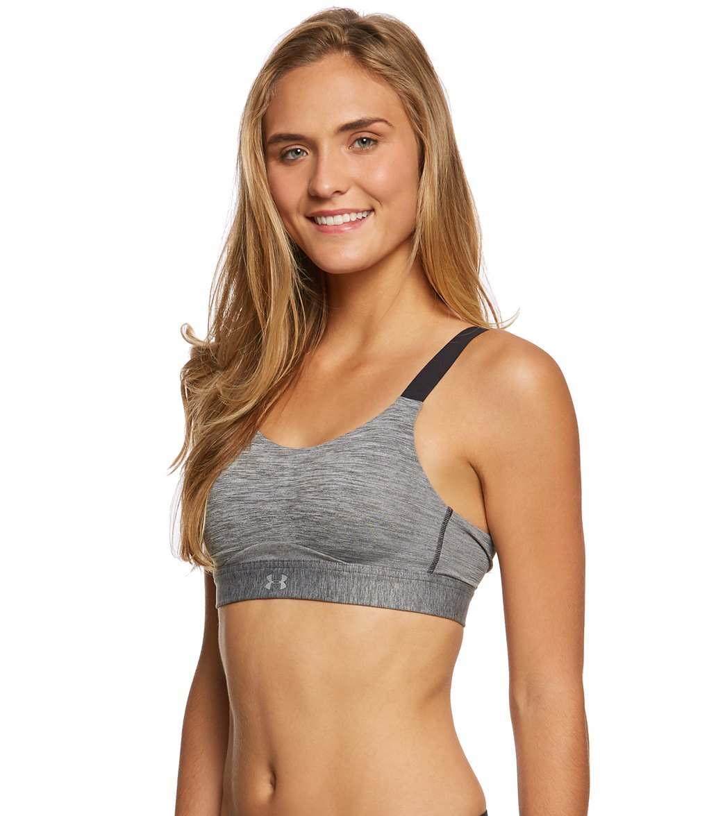 eff250afda Under Armour Women s Eclipse High Heather Sports Bra at SwimOutlet.com -  Free Shipping