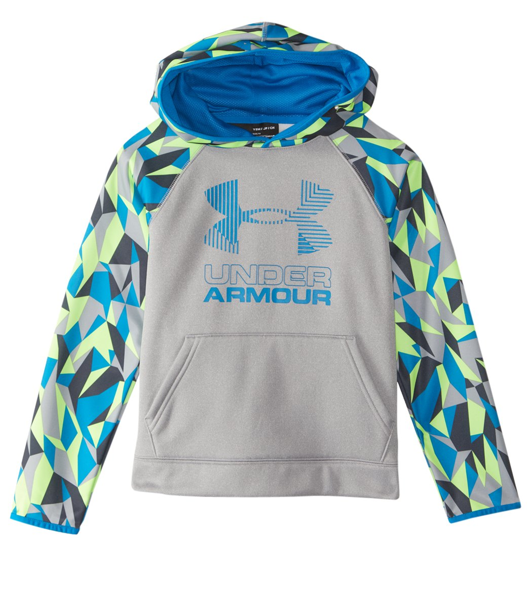 182ca640 Under Armour Boys' SG AF Nov. Big Logo Hoody at SwimOutlet.com