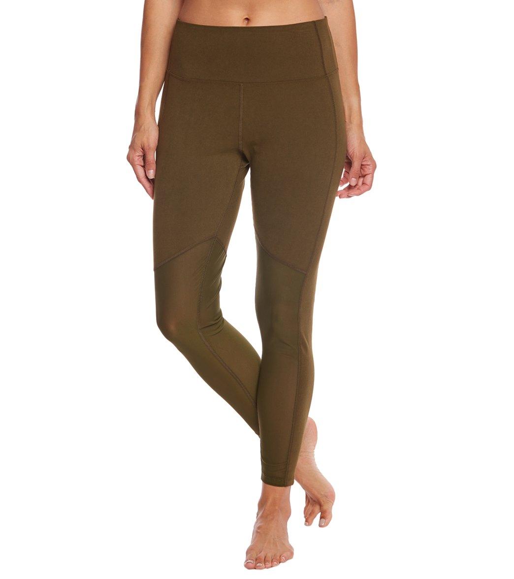 e60aeac1cd27b Marika Olivia Vented High Rise Tummy Control Yoga Leggings at ...