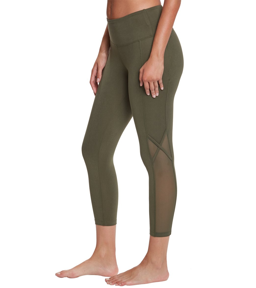 89a40ca443ad Balance Collection Britney High Waisted Yoga Capris at YogaOutlet ...