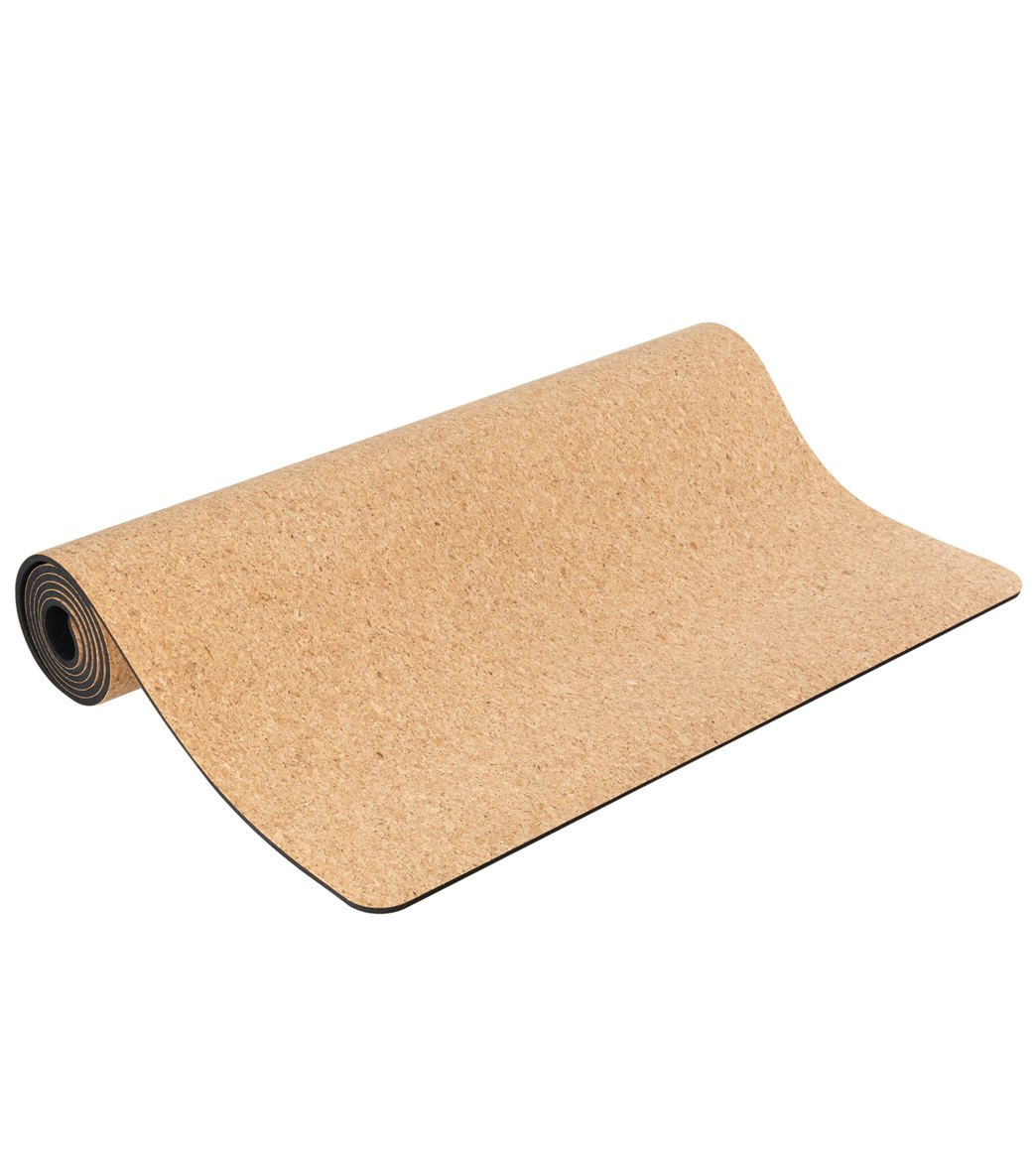 Everyday Yoga Cork Yoga Mat 68 Inch 5mm At Swimoutlet Com