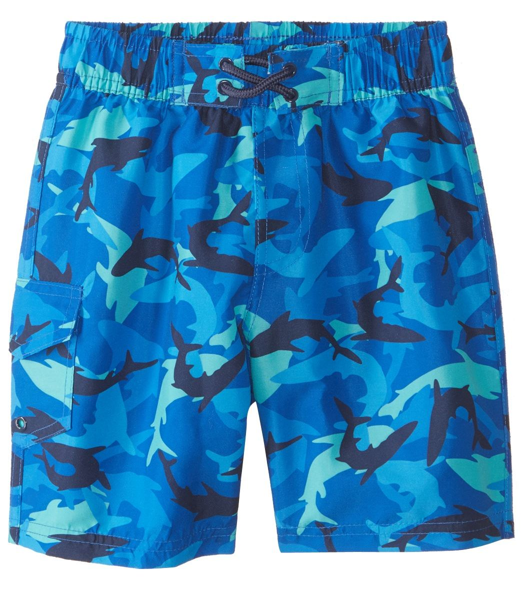 6ef05bb5d0a Sporti Boys' Swim Board Short Trunk (2T - 5T) at SwimOutlet.com