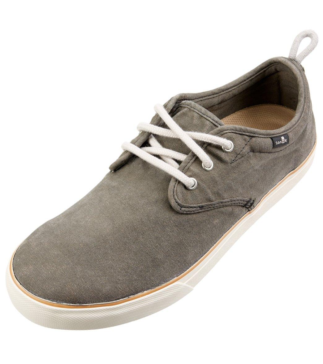 SANUK Men's Guide Plus Shoes, Washed Black