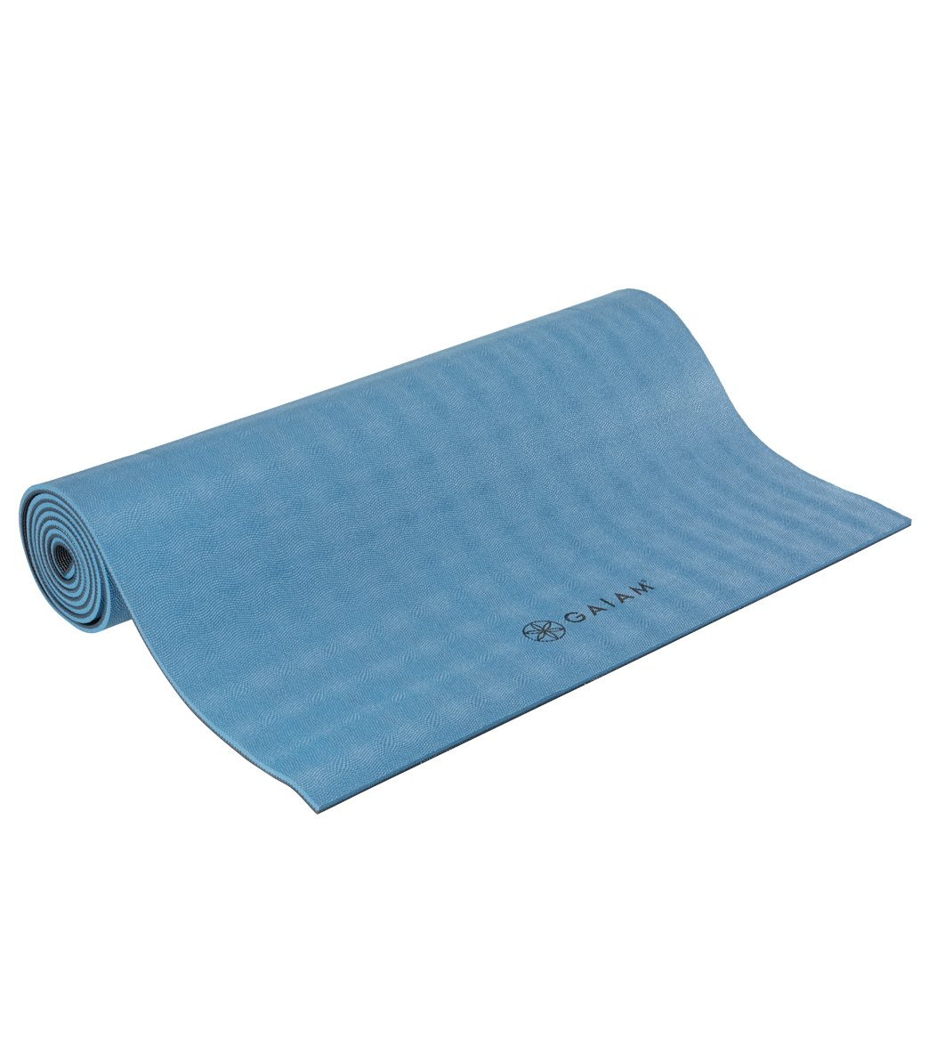 Gaiam Ultra Sticky Yoga Mat 68 6mm Extra Thick At Swimoutlet Com