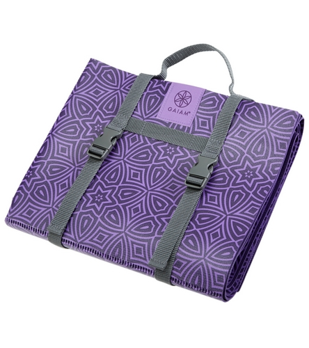 Gaiam On The Go Foldable Yoga Mat 68 Quot 2mm At Yogaoutlet Com