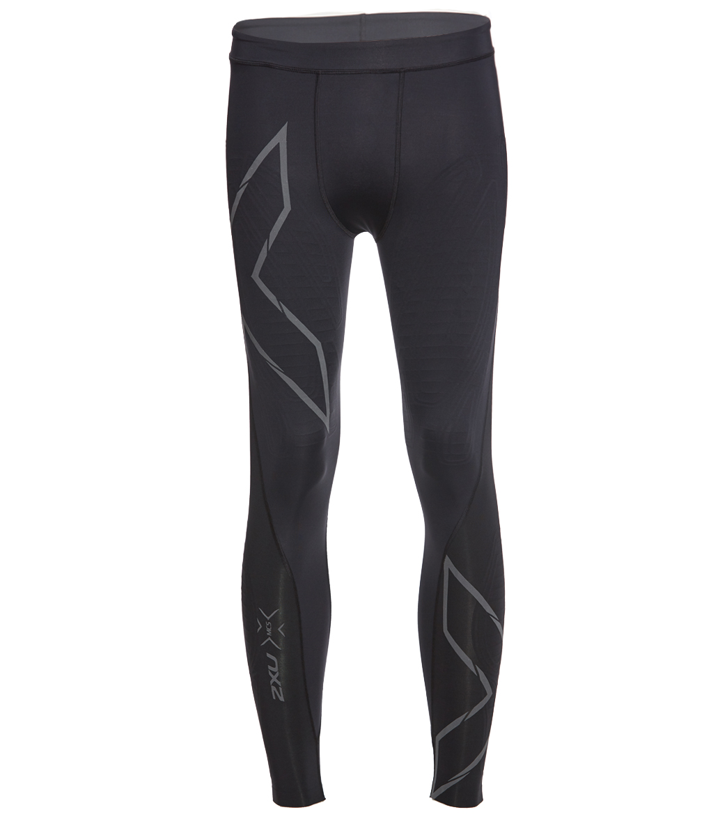 fd45706625 2XU Men's MCS Run Compression Tights at SwimOutlet.com - Free Shipping