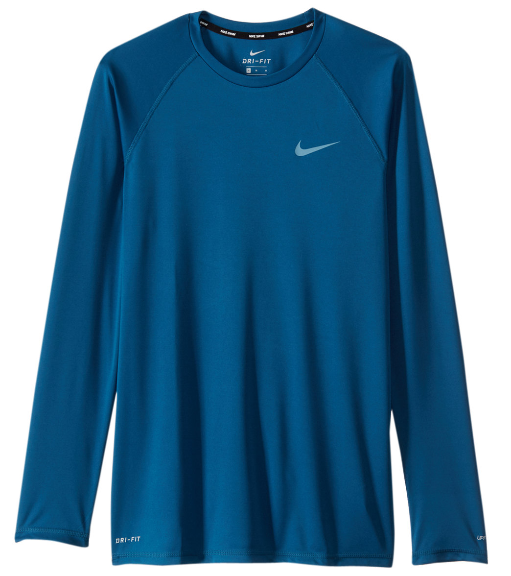 7d7df4f2b4e5 Nike Men s Dri-FIT L S Hydroguard at SwimOutlet.com