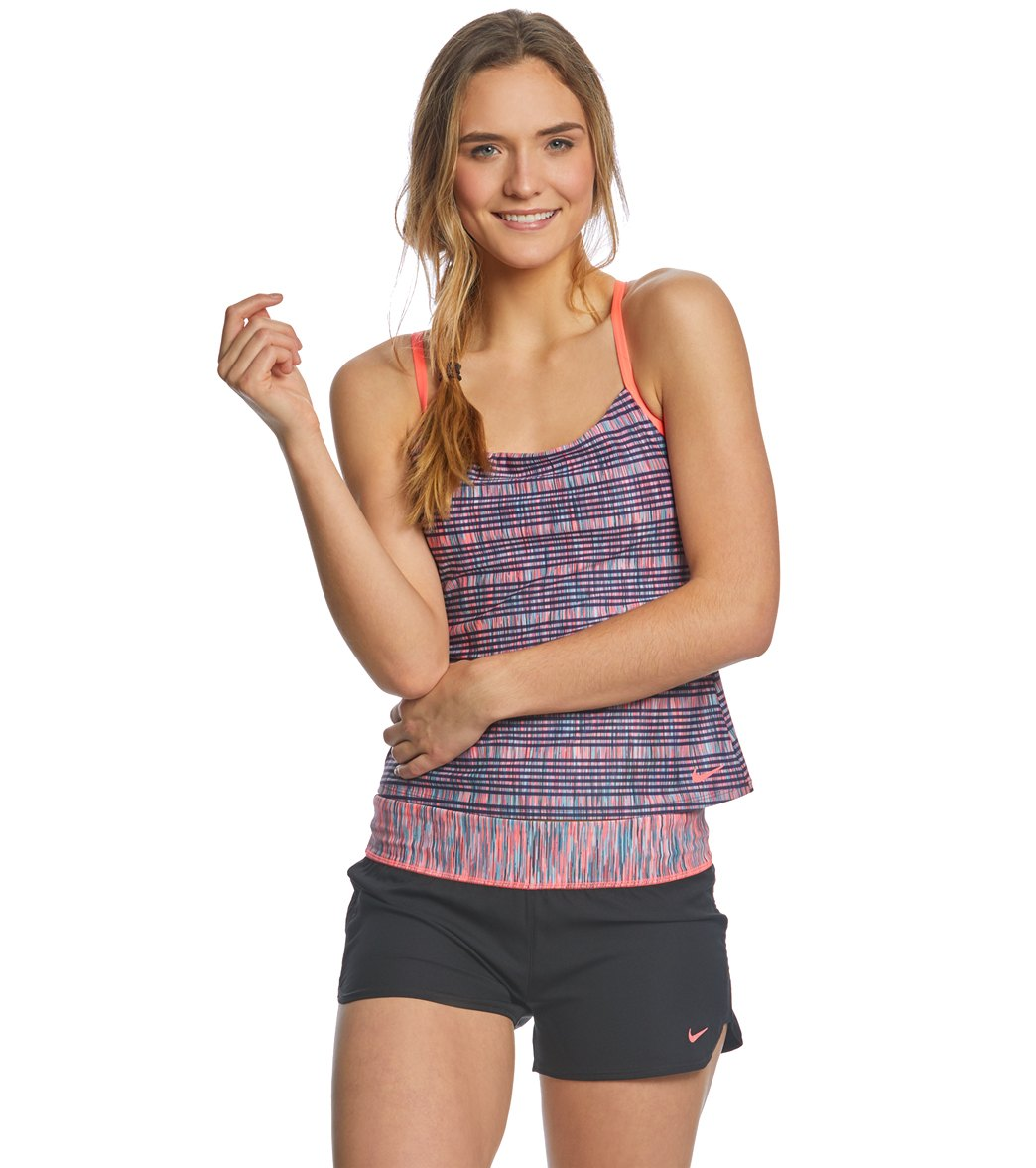 8337984b9e Nike Women's Sport Tankini Top at SwimOutlet.com - Free Shipping