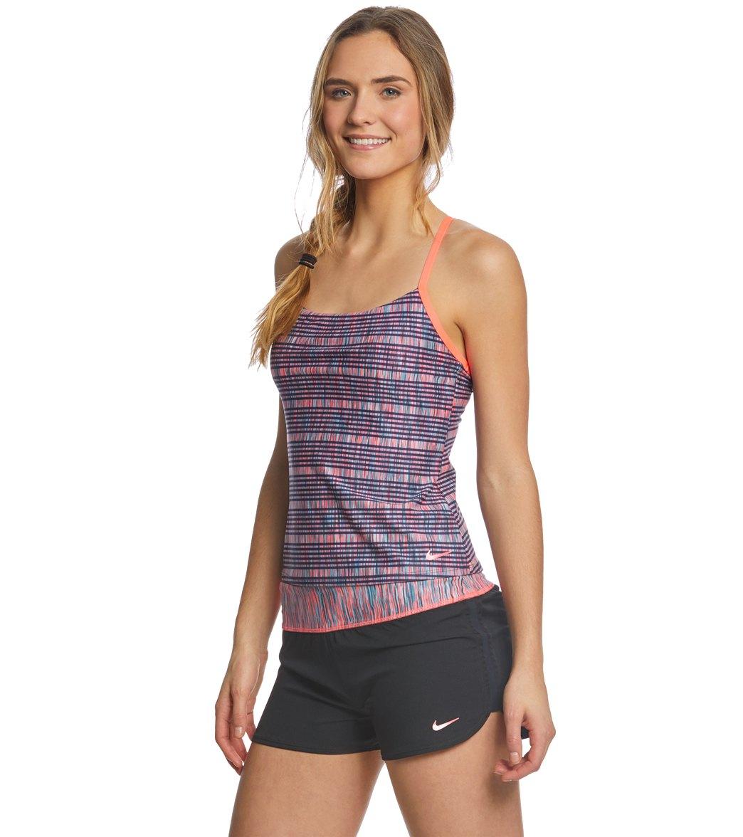 d5b47c9980e07 Nike Women's Sport Tankini Top at SwimOutlet.com - Free Shipping