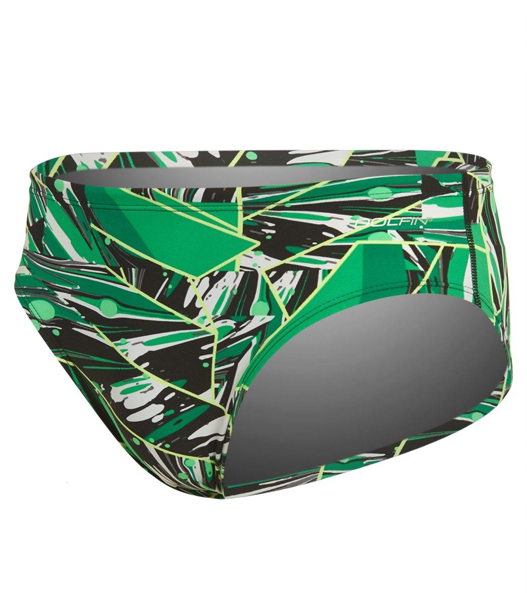 e48f741040 Dolfin Graphlite Men's Vantage All Over Racer Brief Swimsuit at  SwimOutlet.com
