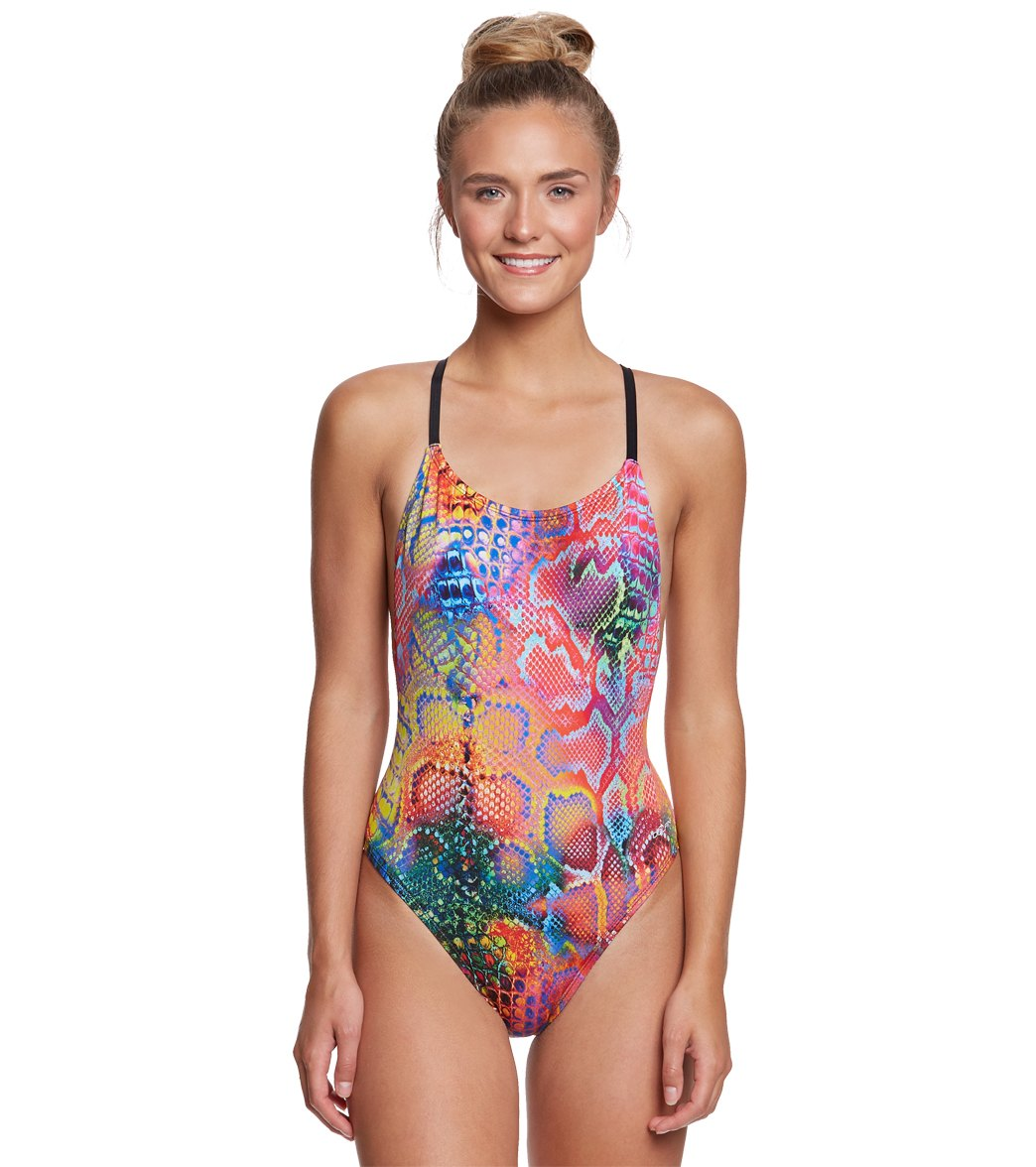 bd582c17853bb Dolfin Bellas Women s Mamba Ultra Low Back One Piece Swimsuit at  SwimOutlet.com - Free Shipping