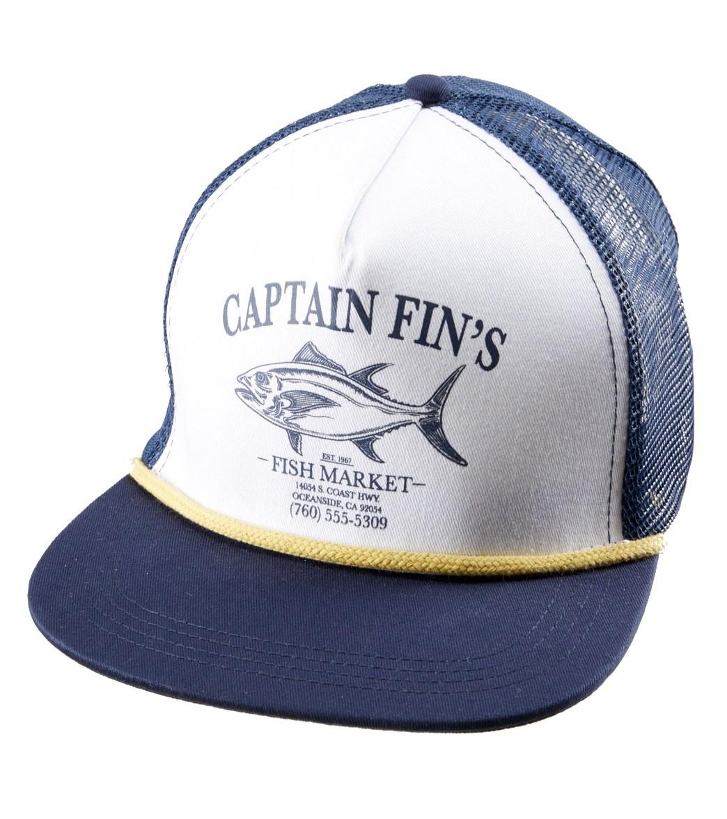 26ab5628d Captain Fin Men's Fish Market Trucker Hat