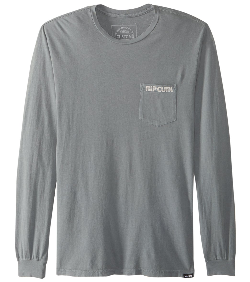ce7ef5e08 Rip Curl Men's Corpo Pump Heritage Long Sleeve Tee at SwimOutlet.com