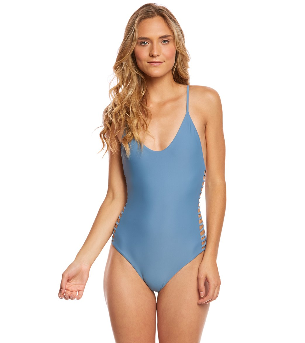 Stone Fox Swim Breeze Hermosa One Piece Swimsuit at SwimOutlet.com - Free  Shipping f82d86f64