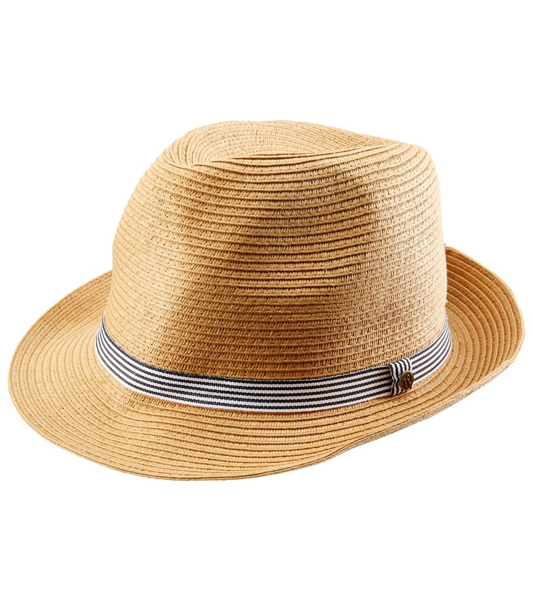 Wallaroo Women s Trilogy Trilby Fedora Hat at SwimOutlet.com 5e26cfff41ce