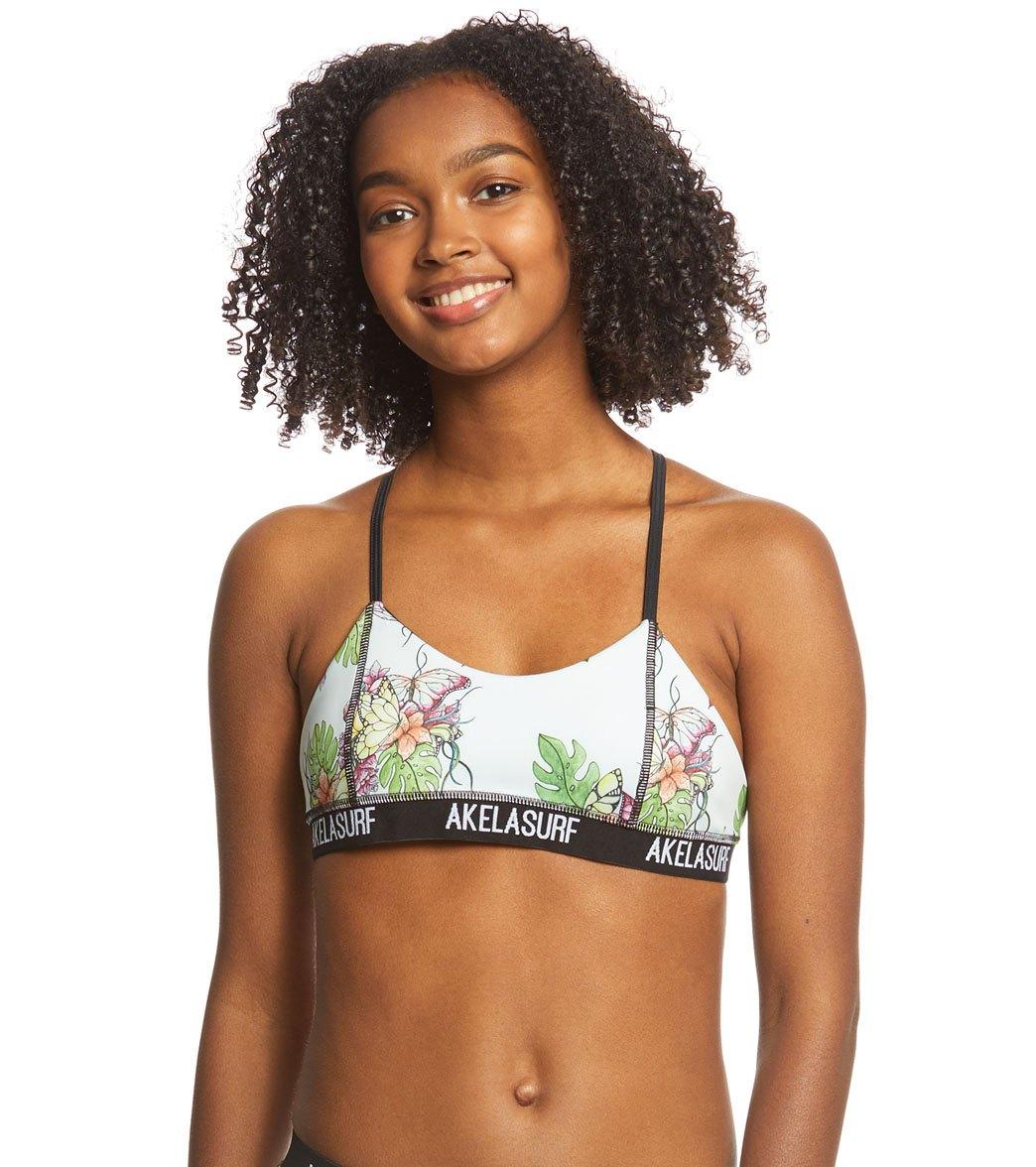 Akela Surf Damen Pura Racerback Bikini-Oberteil