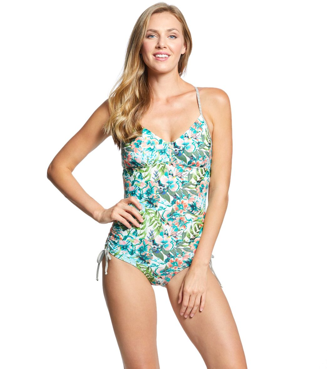ba471d94998d3 Prana Moorea One Piece Swimsuit at SwimOutlet.com - Free Shipping