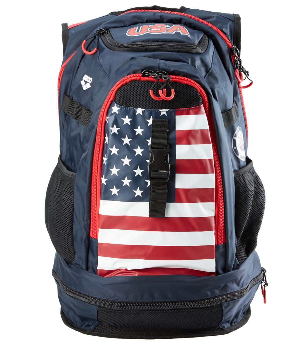 Arena National Team USA Fastpack 2.1 Backpack at SwimOutlet.com ... a1ac543fa36d2