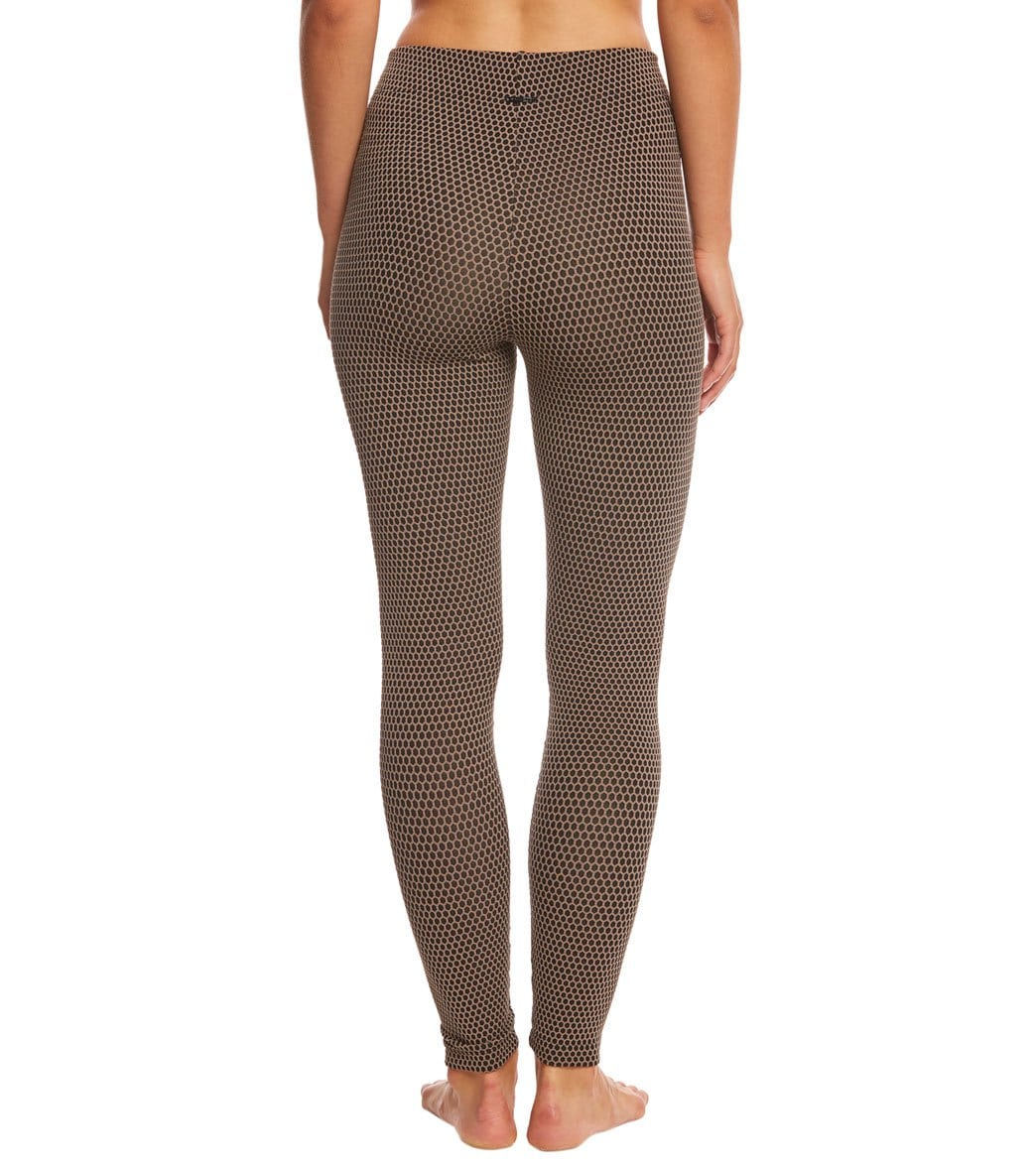 551129a58249e KORAL Power Mid Rise Yoga Leggings at YogaOutlet.com - Free Shipping