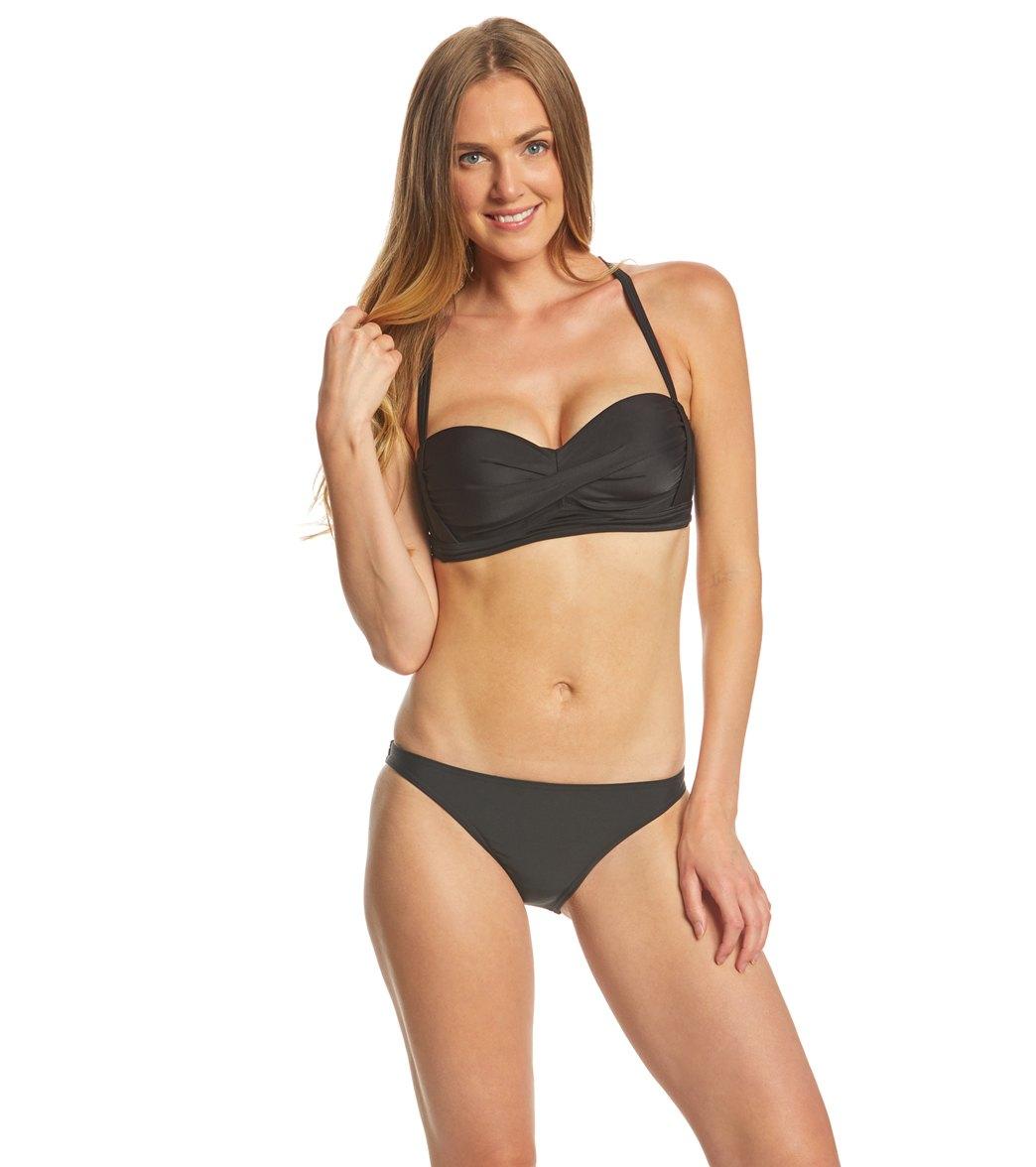 daa70132ce5 Prana Elysia Twist Bikini Top at SwimOutlet.com - Free Shipping