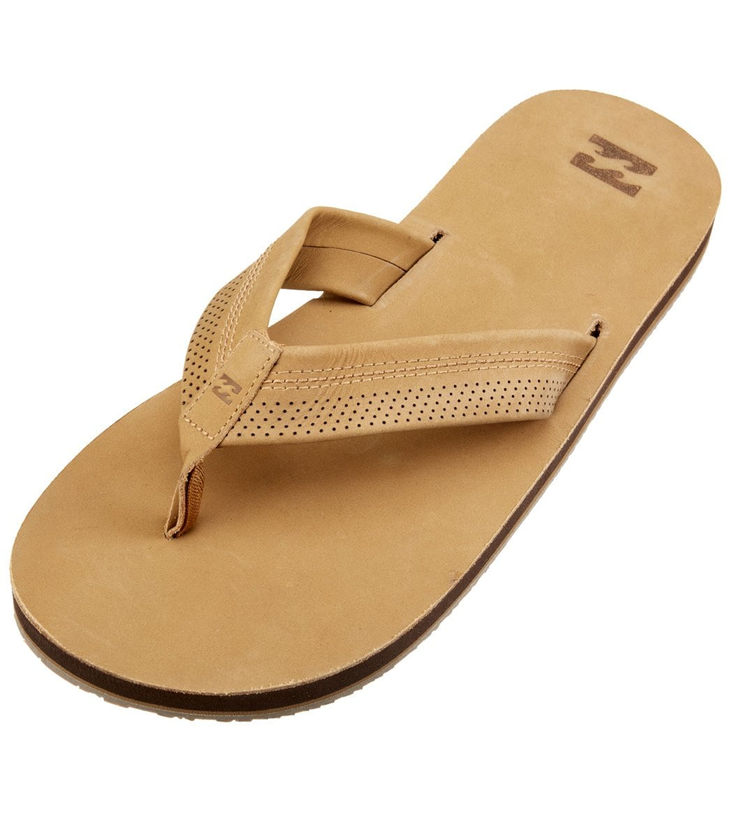 50fbc7fb78e9 Billabong Men s All Day Leather Sandal at SwimOutlet.com - Free Shipping