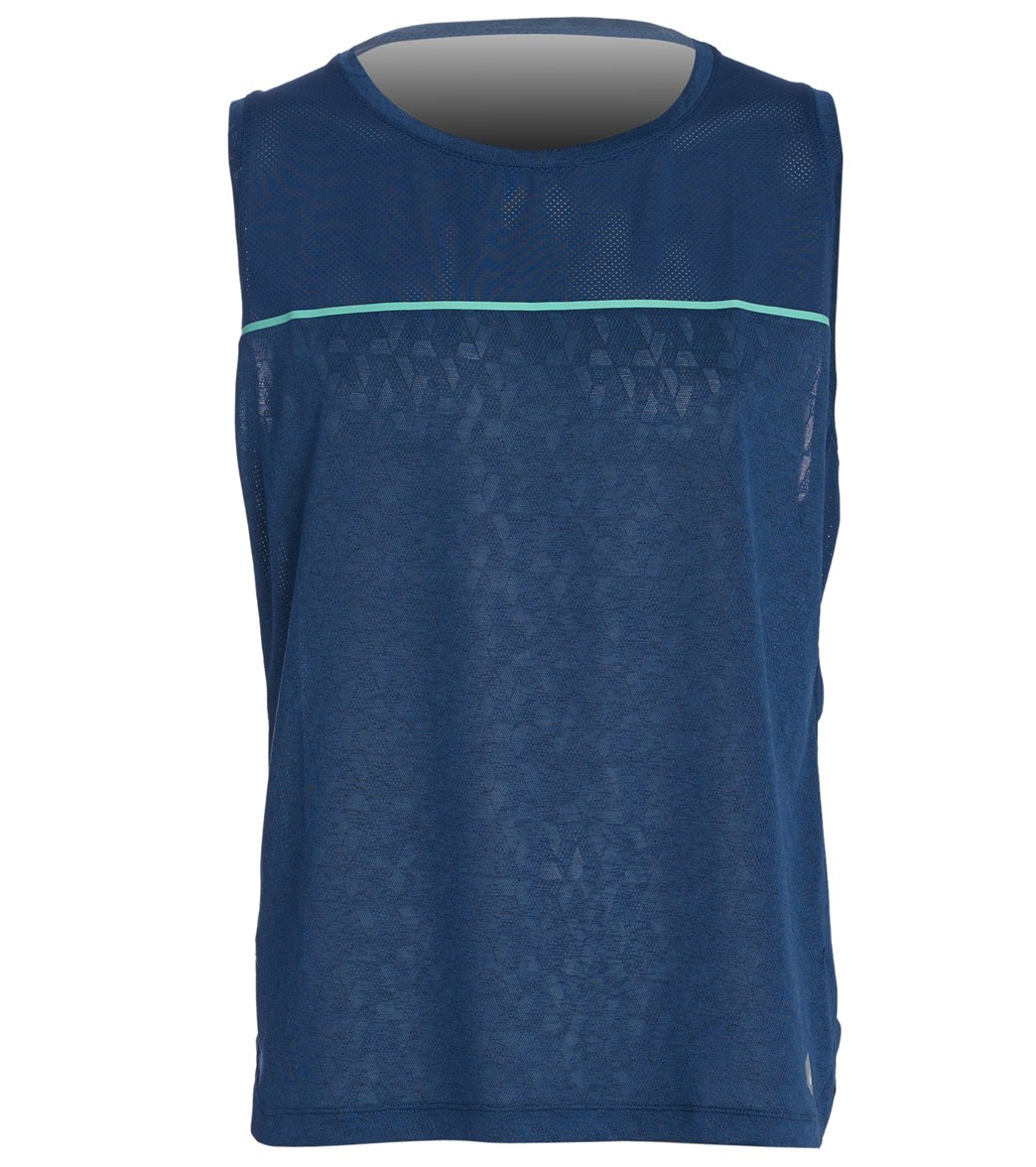 ea96eed165b73 Asics Men s Cool Singlet at SwimOutlet.com