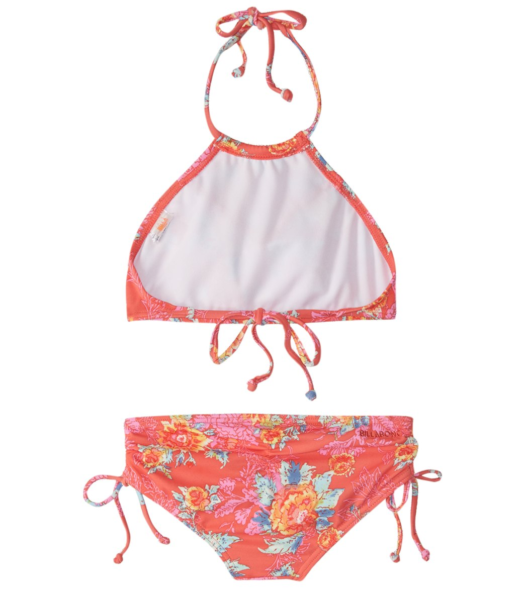 32659b3b30bd9 Billabong Girls  Rosie Daze High Neck Bikini Set (4-14) at ...