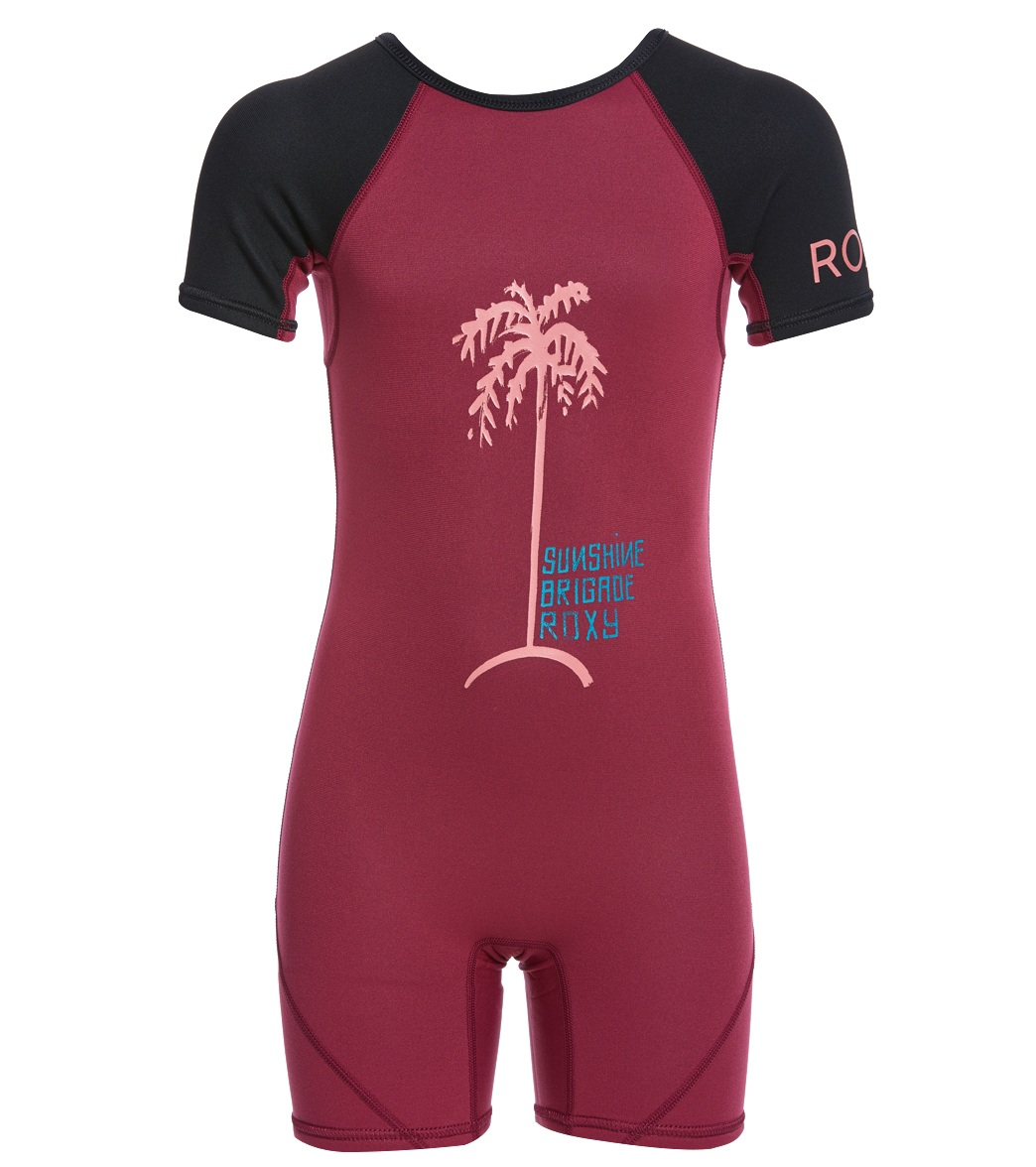 Roxy Toddler Girls  1.5MM Syncro Back Zip Spring Suit at SwimOutlet.com f30d98857