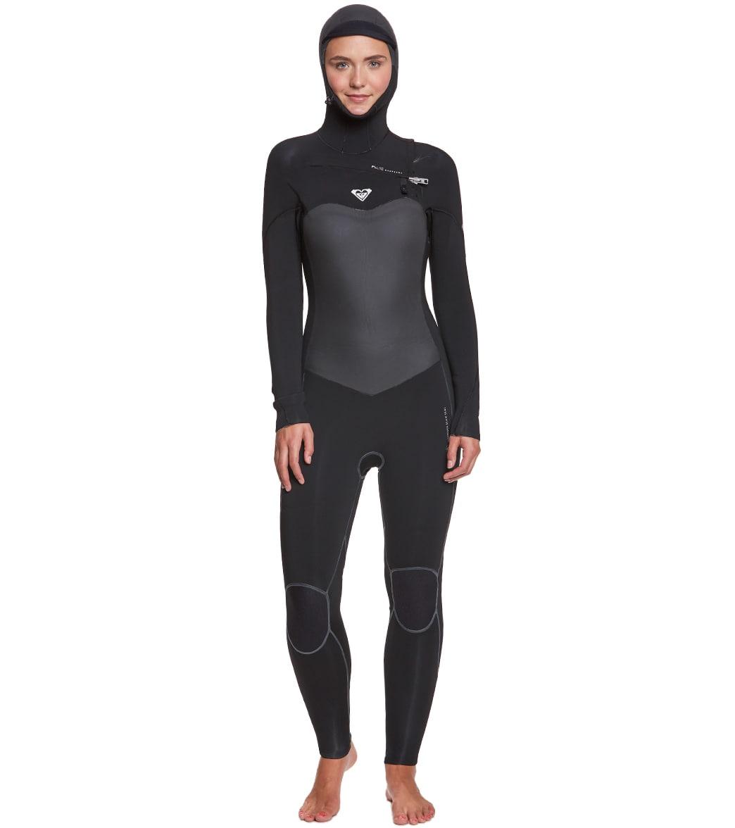 Roxy Women s 5 4 3MM Performance Chest Zip Hooded Fullsuit at ... 88d50e9cb