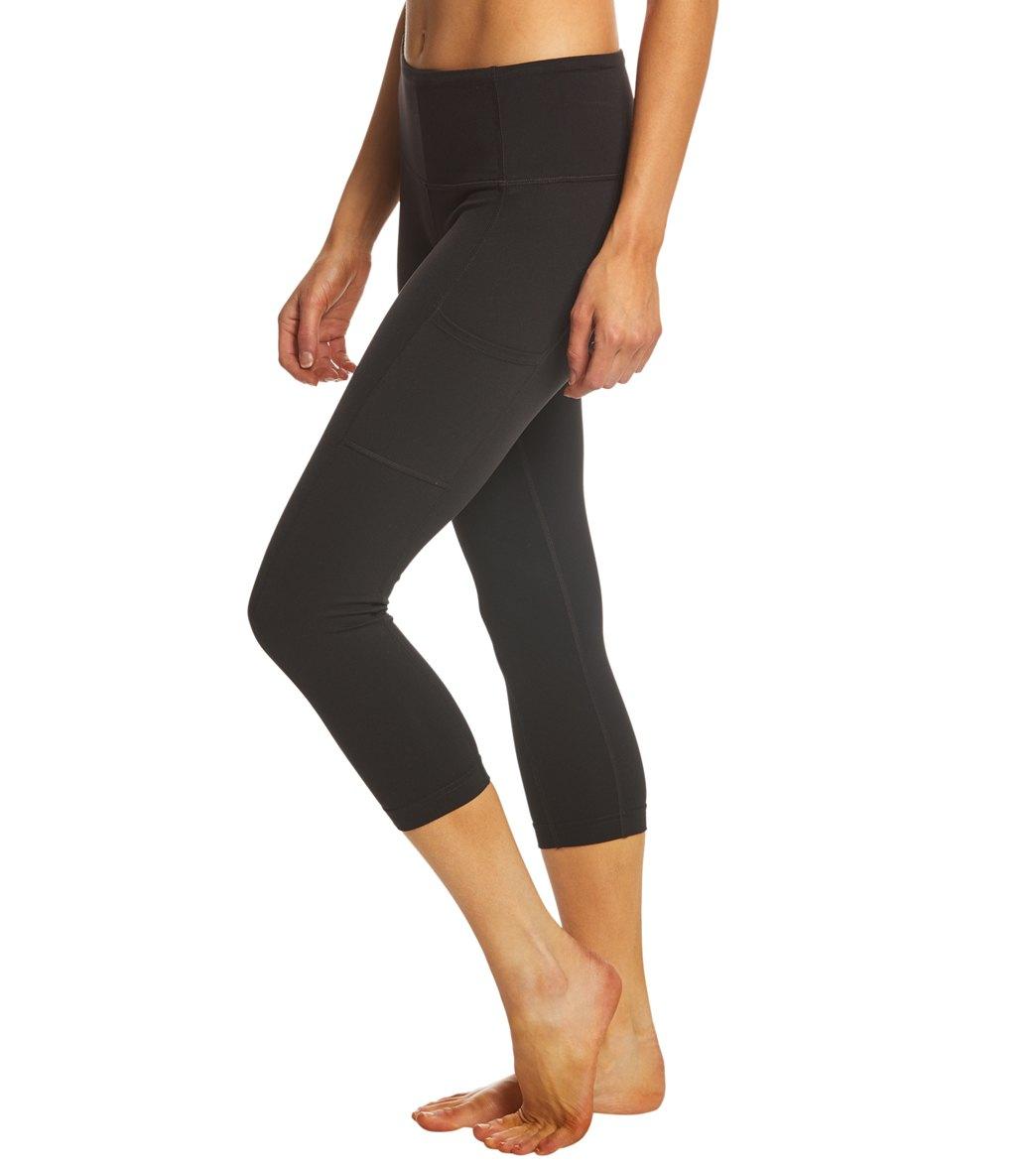 prAna Womens Borra Pocket Capri Prana Sports Apparel W41180319-P