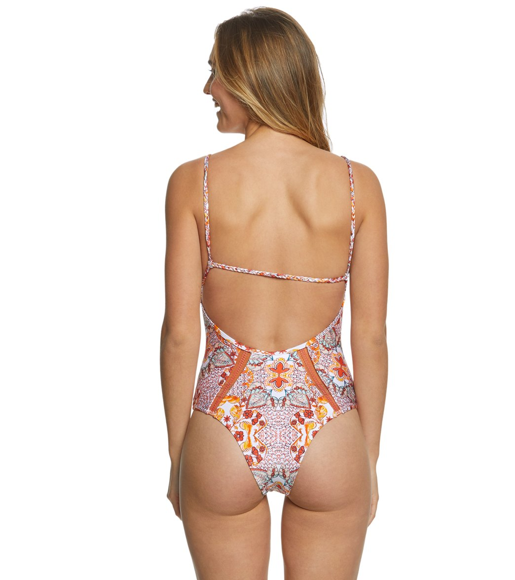 cd5a763926d Somedays Lovin Sun Drenched Strappy One Piece Swimsuit