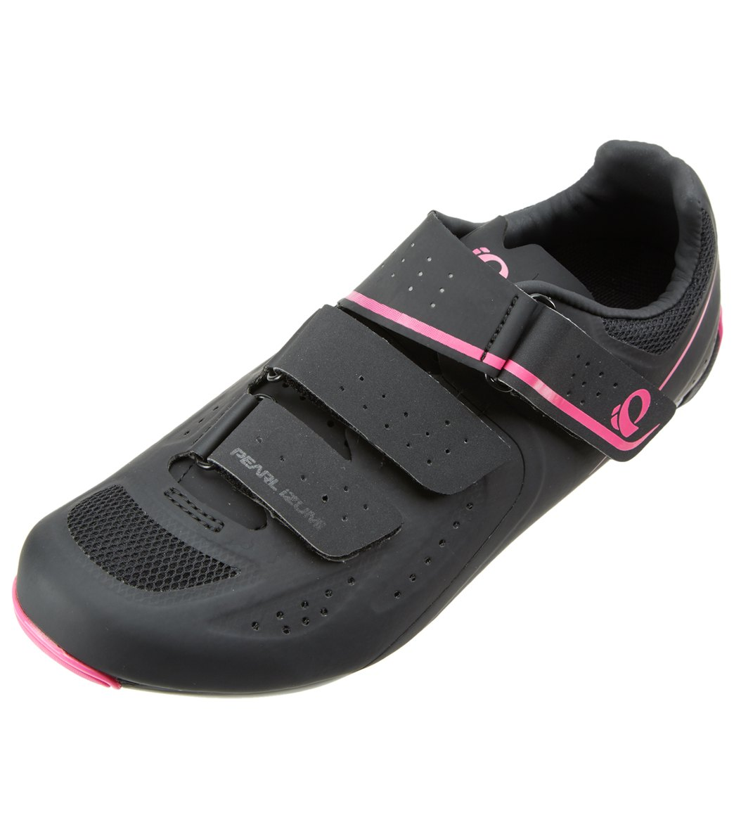 Pearl Izumi Women's Select Road V5 Studio Cycling Shoe - Black/Black 40 - Swimoutlet.com