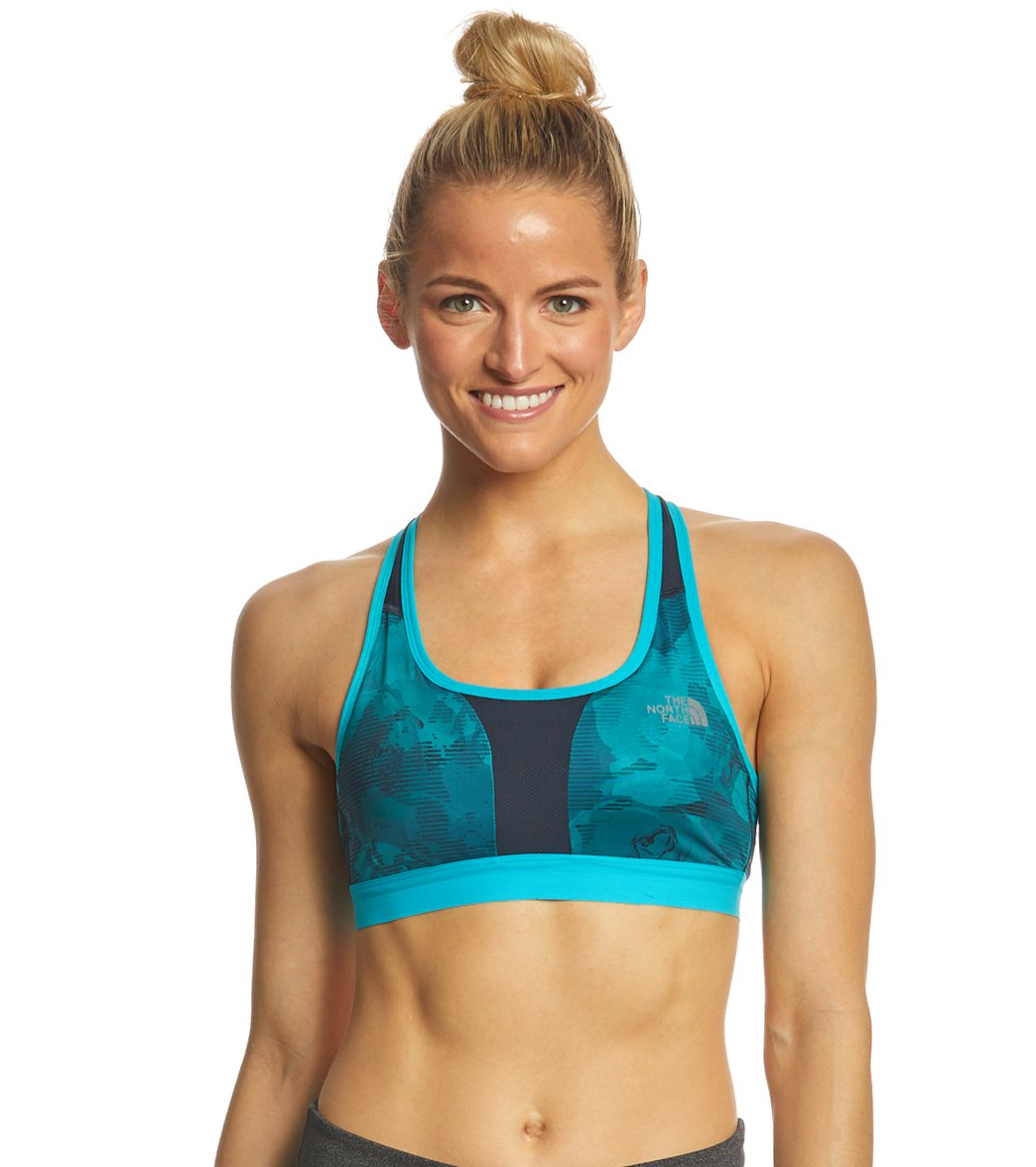3d95b2d6f2125 The North Face Women s Stow-N-Go Sports Bra A B at SwimOutlet.com ...