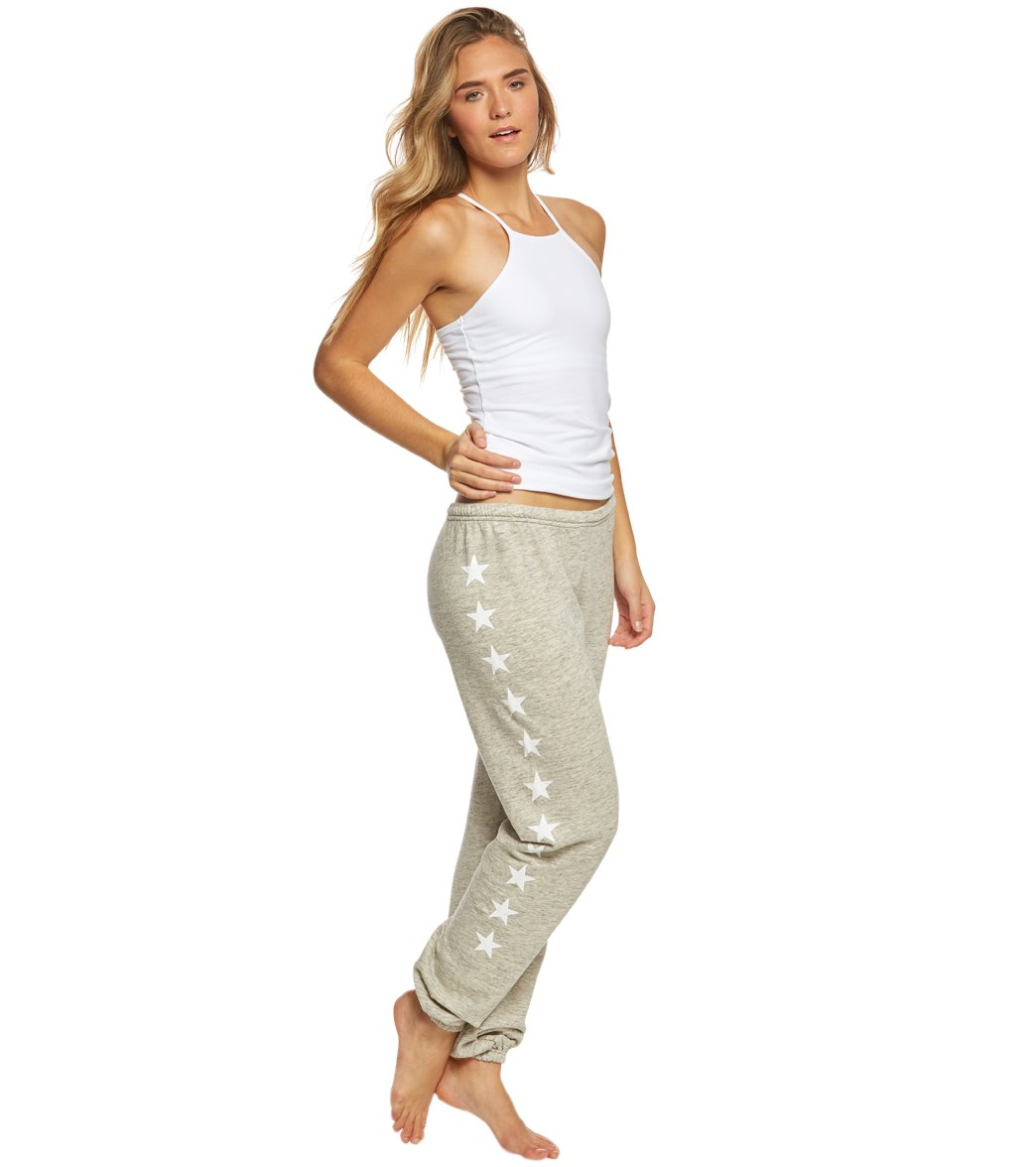 Hard Tail Old School Sweatpant Joggers At Yogaoutletcom Free Shipping