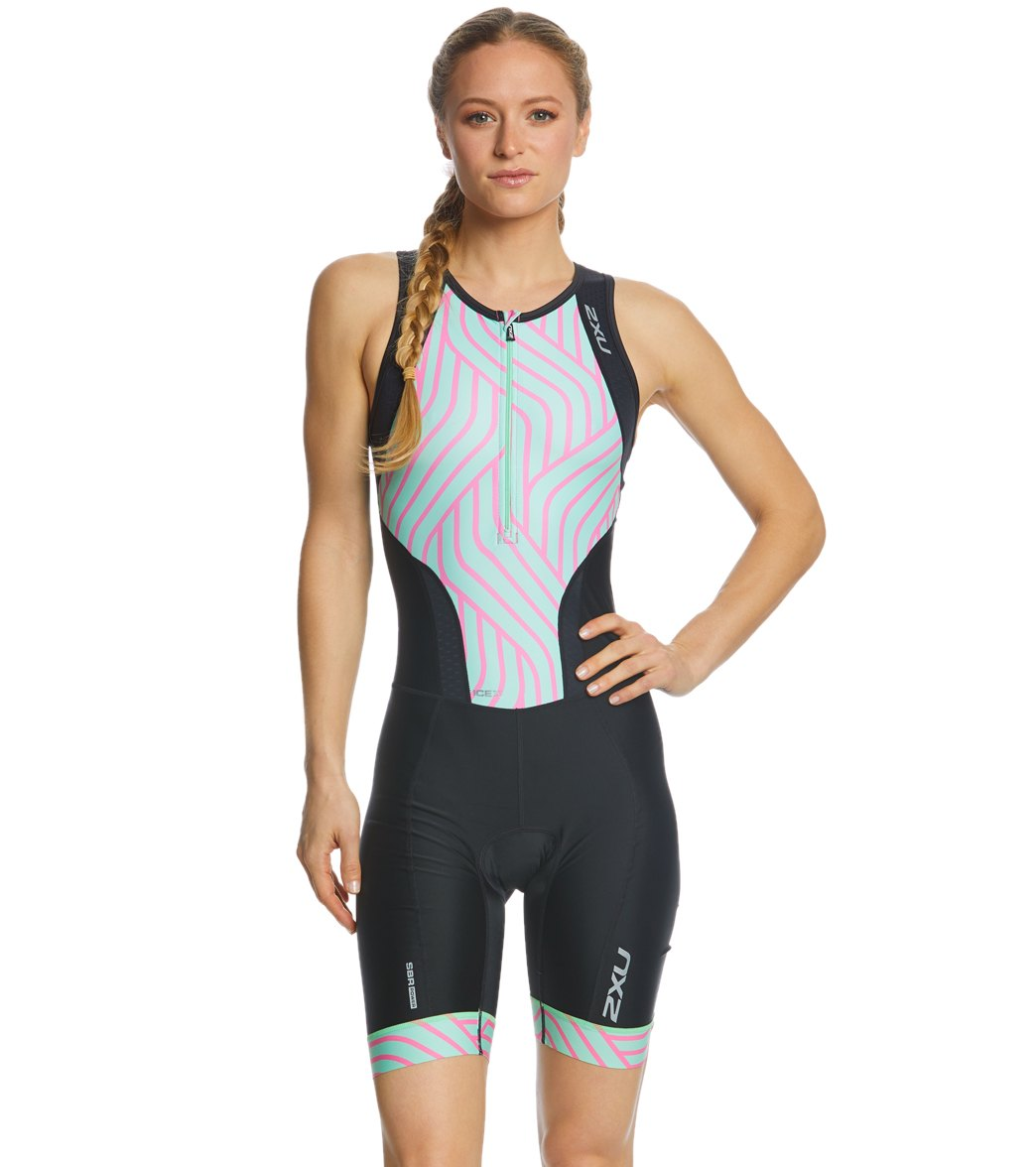 a1b977e4eaf13 2XU Women s Perform Front Zip Tri Suit at SwimOutlet.com - Free Shipping