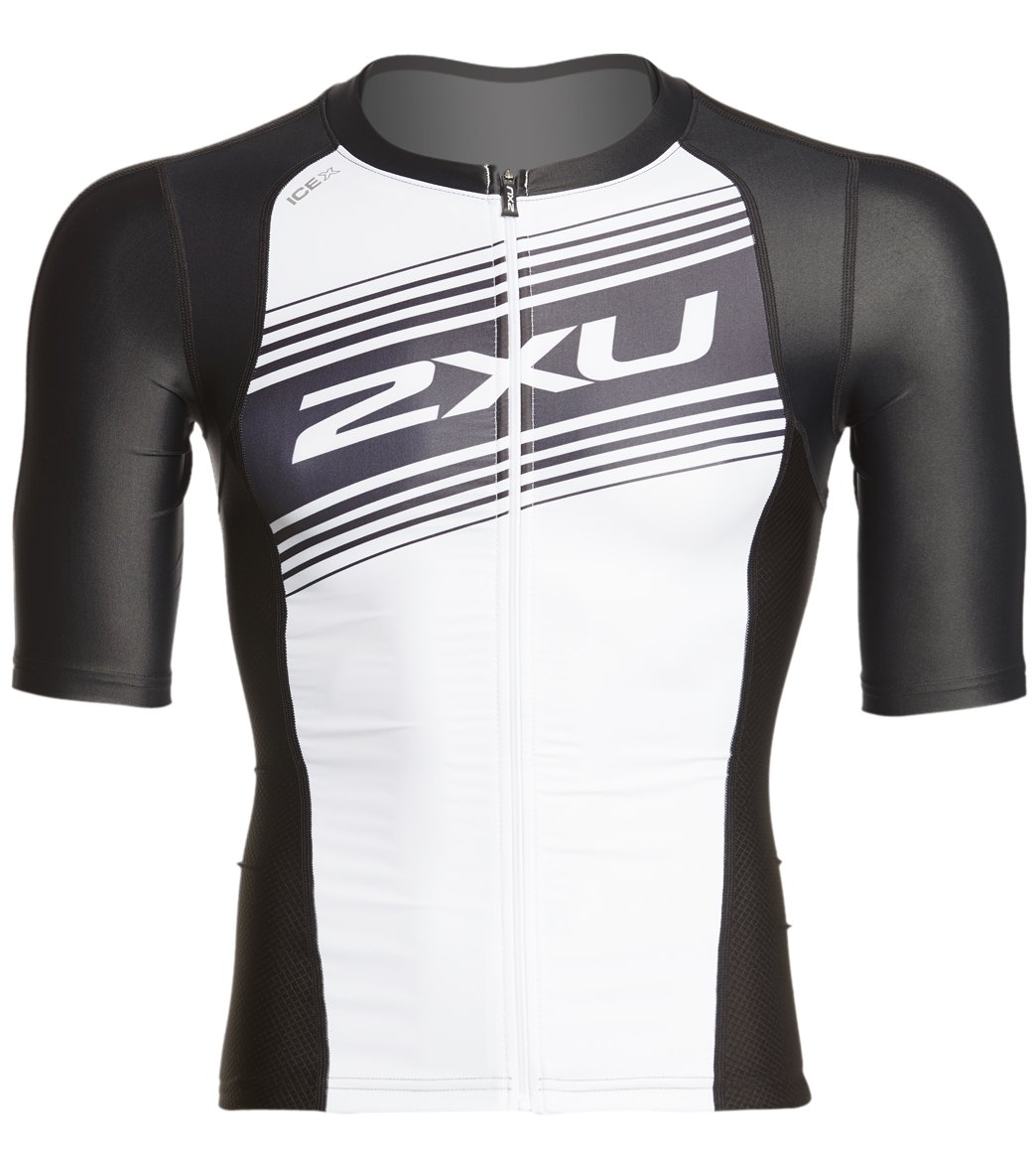 e195d905e25 2XU Men s Compression Sleeved Tri Top at SwimOutlet.com - Free Shipping