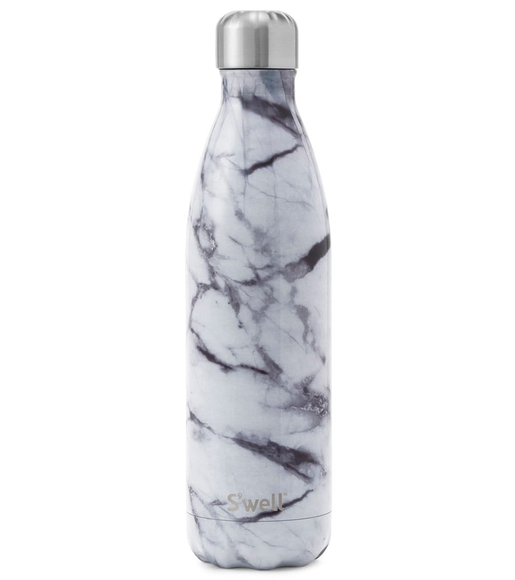 S Well White Marble 25oz Stainless Steel Water Bottle At