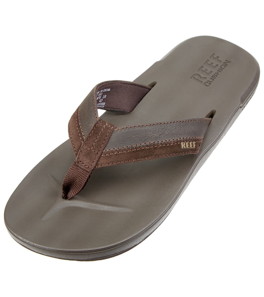 eb9b94eb55f0 Reef Men s Contour Cushion LE Flip Flop at SwimOutlet.com