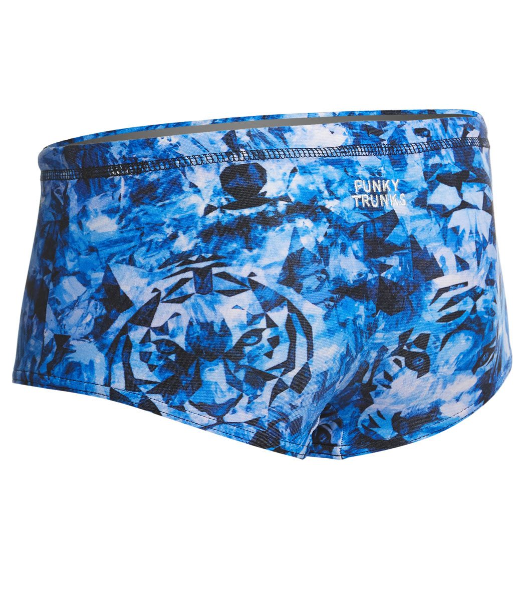 6415ca4f87 Funky Trunks Toddler Boy's Predator Freeze Square Leg Swimsuit at  SwimOutlet.com