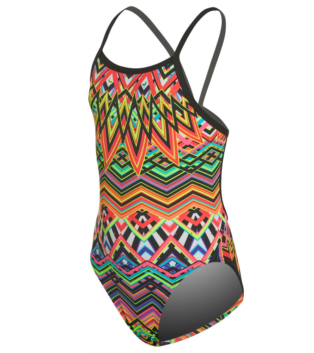 9a33971df9a89 Funkita Girls' Go Safari Single Strap One Piece Swimsuit at SwimOutlet.com  - Free Shipping