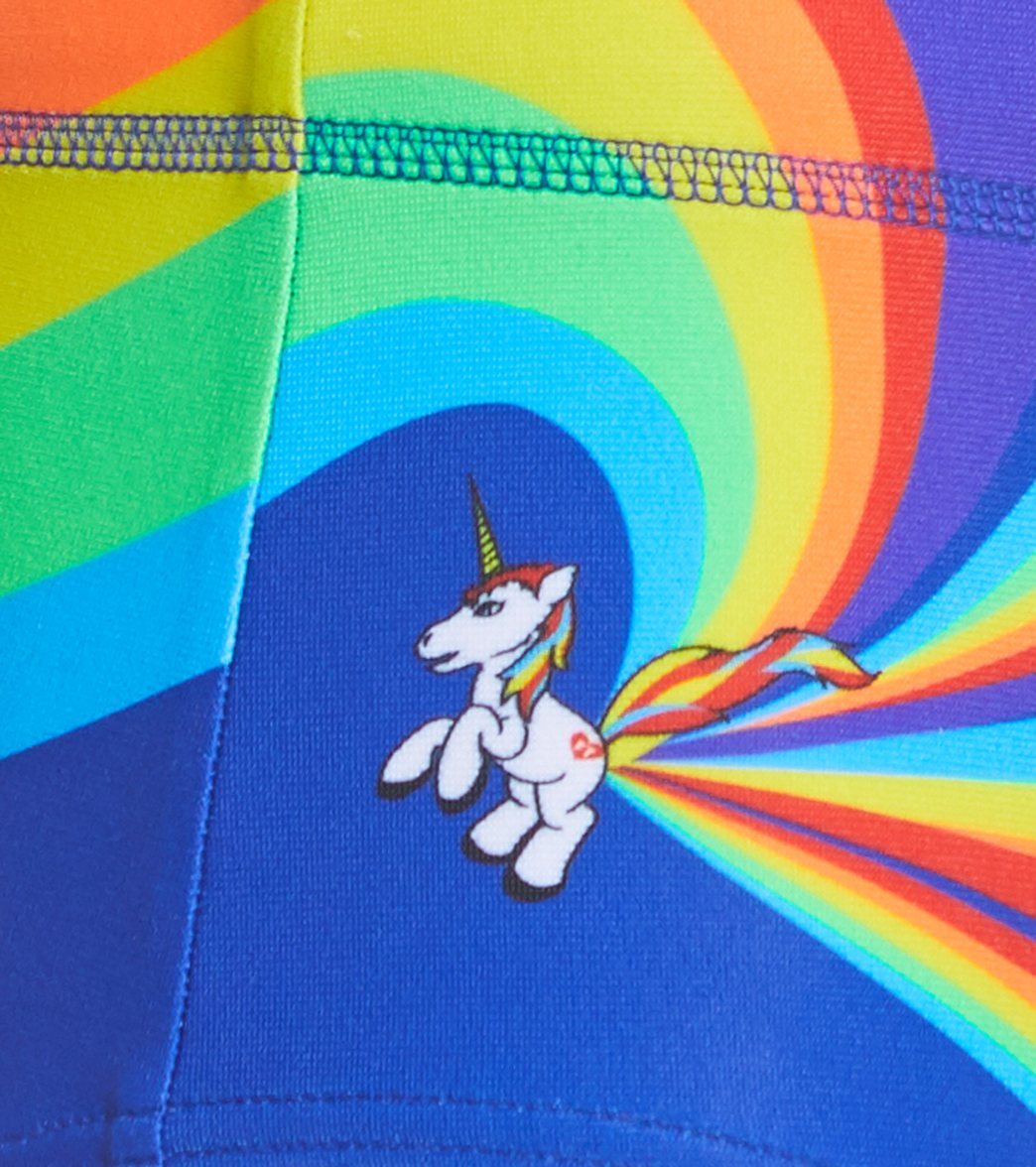 cedd5e8911 Funky Trunks Boys' Pony Puff Square Leg Swimsuit at SwimOutlet.com