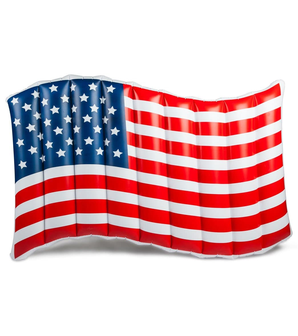 Big Mouth Toys Waving American Flag Float At Swimoutlet Com